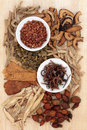 Herbal Medicine Royalty Free Stock Photos