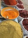Herbal powders Royalty Free Stock Photo