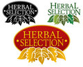 Herbal Selection Seal Stock Photo