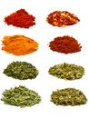 Herbs & Spices Royalty Free Stock Photo