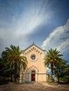 Herceg Novi church Stock Photography
