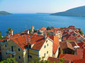 Herceg novi montenegro beautiful mediterranean town Royalty Free Stock Photography