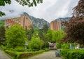 Herculane resort, Romania Royalty Free Stock Photo