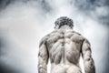 Hercules statue in Piazza della Signoria Royalty Free Stock Photo
