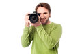 Here we go... Smile Please! Royalty Free Stock Photo