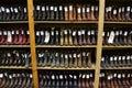 Cowboy boots in a San Antonio cowboy shop.