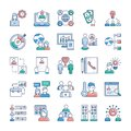 Business And Jobs Icons Set