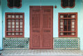 Heritage House, George Town, Penang, Malaysia Royalty Free Stock Photo