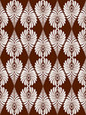 Heritage repeat pattern Stock Image