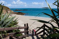 Herm island channel islands belvoir beach Royalty Free Stock Photography
