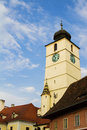 Hermannstadt sibiu the european capital of culture in Royalty Free Stock Photography