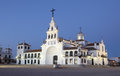 The Hermitage of El Rocio, Spain Stock Images