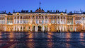 Hermitage on Palace Square, St. Petersburg Royalty Free Stock Photo