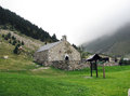 Hermitage in Vall de Nuria Royalty Free Stock Photo