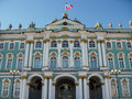 The Hermitage. Winter Palace. Saint Petersburg, Russia. Royalty Free Stock Photo