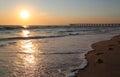Hermosa Beach, California Sunset