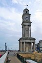Herne bay clock tower the at along the sea front Royalty Free Stock Photos