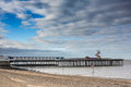 Herne bay pier a cloudscape over kent uk Stock Image