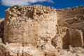 Herodion ruins in Israel Royalty Free Stock Image