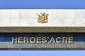 Heroes Acre, Windhoek, Namibia...