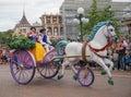 Heroes parade at Disneyland snow white