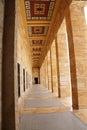 Heroic monumental architecture of ataturk mausoleum ankara turkey Royalty Free Stock Images