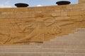 Heroic monumental architecture of ataturk mausoleum ankara turkey Stock Photo