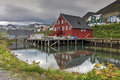 Herring era museum iceland the in siglufjörður northern Royalty Free Stock Images