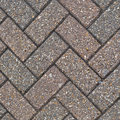 Herringbone brick pattern composition as an abstract background Stock Photo