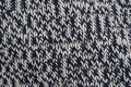 Herringbone hand knitted wool Stock Images