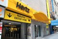 Hertz car rental new york usa july office in new york is one of largest companies it was founded in and employs Royalty Free Stock Image