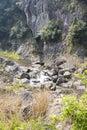 Hesheng brook this photo was taken in rock shiweiyan scenic area nanxi river scenic area yongjia county zhejiang province china Stock Photo