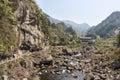 Hesheng brook this photo was taken in rock shiweiyan scenic area nanxi river scenic area yongjia county zhejiang province china Stock Image