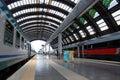 Het Centrale station van Milaan Stock Fotografie