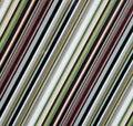 Het diagonale patroon van de lijnstof Stock Afbeelding