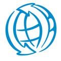 Het embleem van de wereld Stock Foto