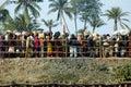 Het Festival van Gangasagar in India. Royalty-vrije Stock Afbeelding