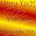 Het frame van Kerstmis Royalty-vrije Stock Fotografie