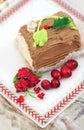 Het gebakje van de vakantie Stock Foto's