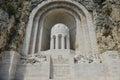 Het Gedenkteken van de Oorlog van Aux Morts van het monument Royalty-vrije Stock Afbeeldingen