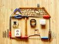 Het huisverbetering concept