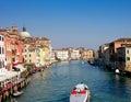 Het Kanaal van Venetië Royalty-vrije Stock Fotografie