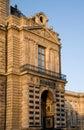 Het Museum van het Louvre. (Galeries des Antiques), Parijs. Royalty-vrije Stock Afbeelding