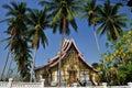 Het Museum van Prabang van Luang Stock Fotografie