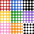 Het Patroon van het tafelkleed Stock Fotografie