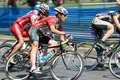 Het Ras van de fiets Royalty-vrije Stock Foto
