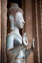 Het standbeeld van Boedha. Royalty-vrije Stock Foto's