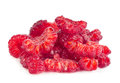 Het stuk van het frambozenfruit Stock Afbeelding