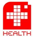 Het symbool van de gezondheid Stock Foto's