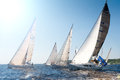 Hetman cup regatta kyiv ukraine may sailboats participate in on may th in kyiv sea dnipro river kyiv ukraine this is the eleventh Royalty Free Stock Photo